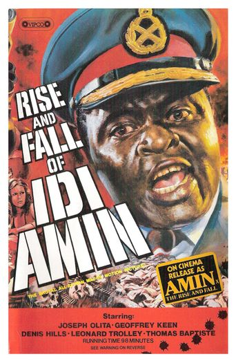 Rise and Fall of Idi Amin Poster