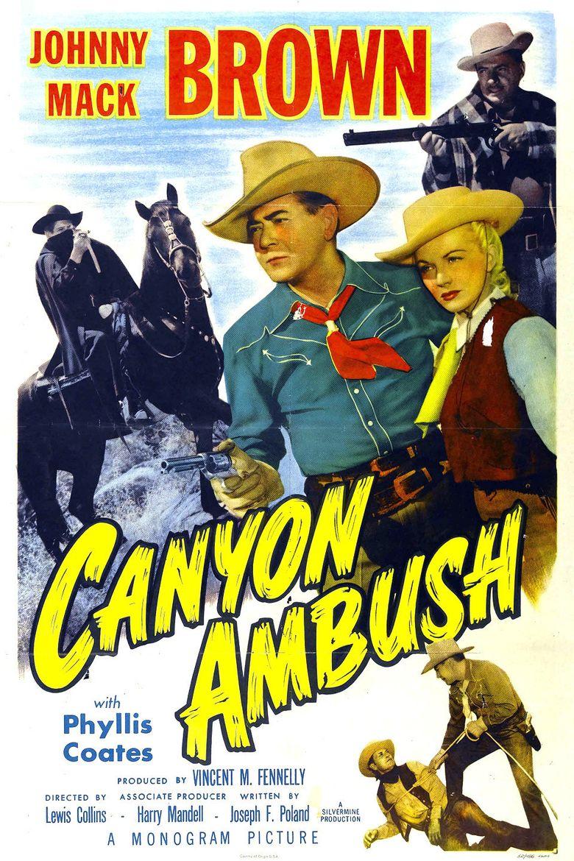 Canyon Ambush Poster