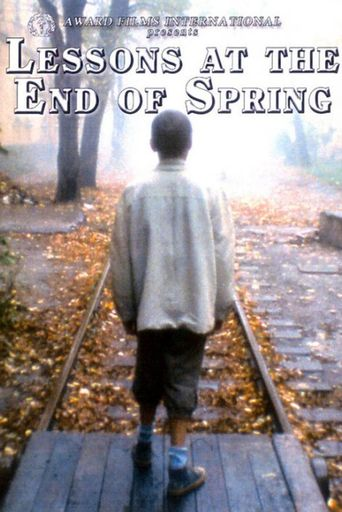 Lessons at the End of Spring Poster