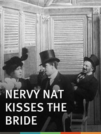 Nervy Nat Kisses the Bride Poster