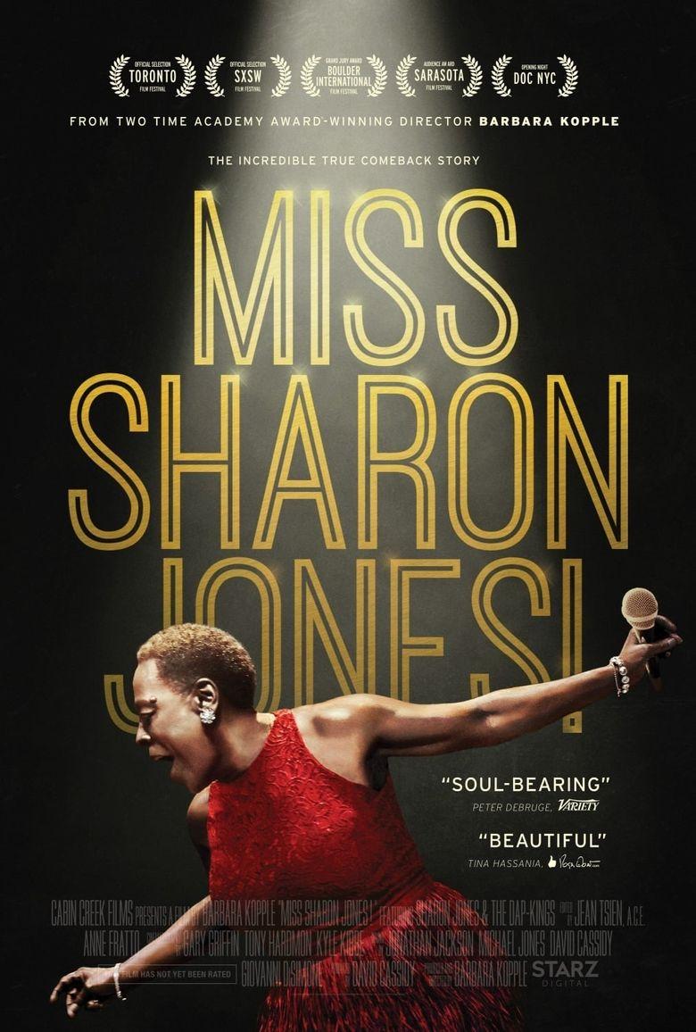 Miss Sharon Jones! Poster