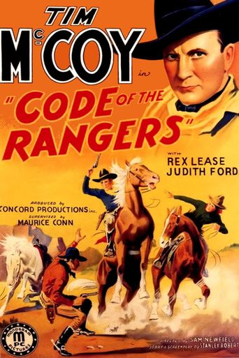 Code of the Rangers Poster