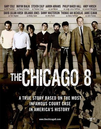The Chicago 8 Poster