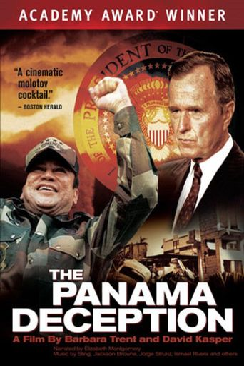 The Panama Deception Poster