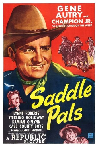 Saddle Pals Poster