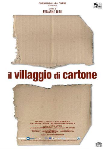 The Cardboard Village Poster