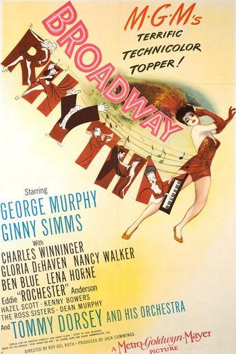 Broadway Rhythm Poster