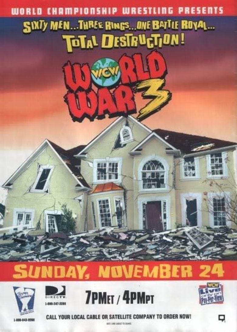 WCW World War 3 1996 Poster