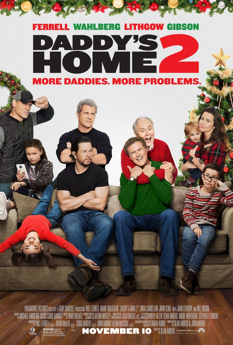 Daddy\'s Home 2 (2017) - Watch on Epix or Streaming Online | Reelgood