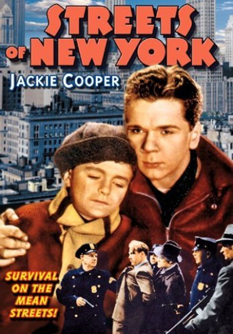 Streets of New York Poster
