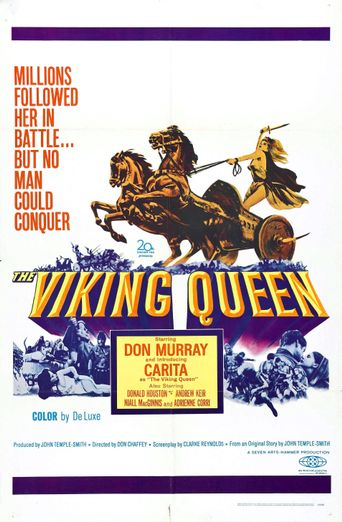 The Viking Queen Poster