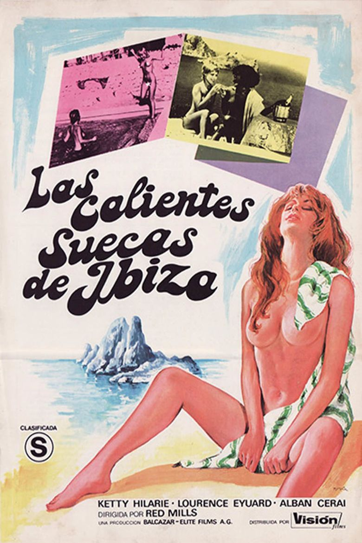 Six Swedish Girls on Ibiza Poster