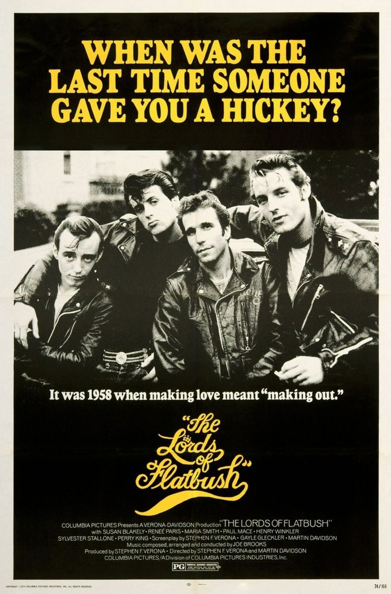 The Lords of Flatbush Poster