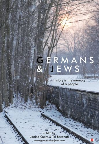 Germans & Jews Poster