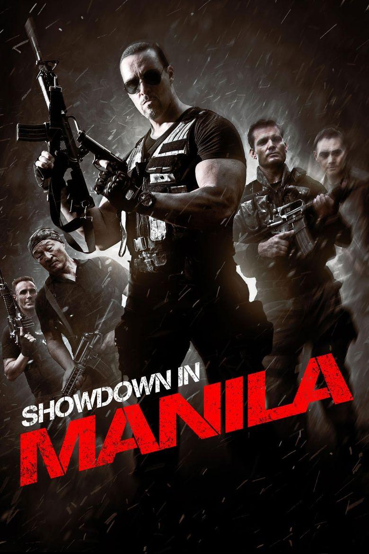 Showdown in Manila Poster