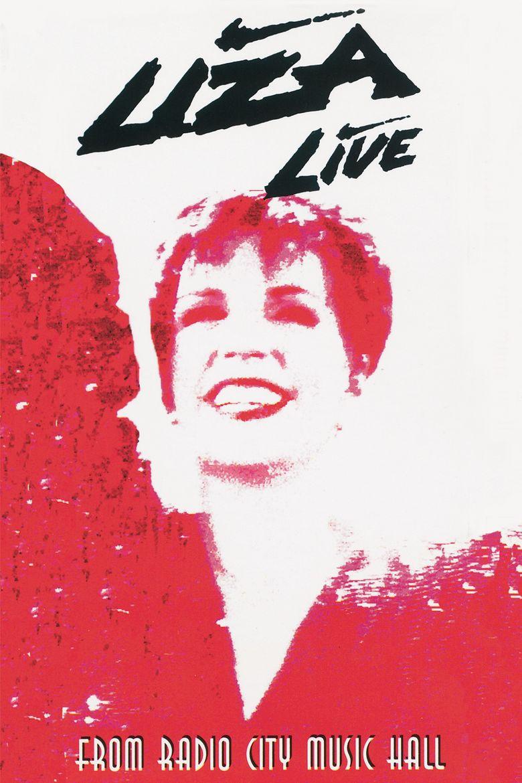 Liza Minnelli Live from Radio City Music Hall Poster