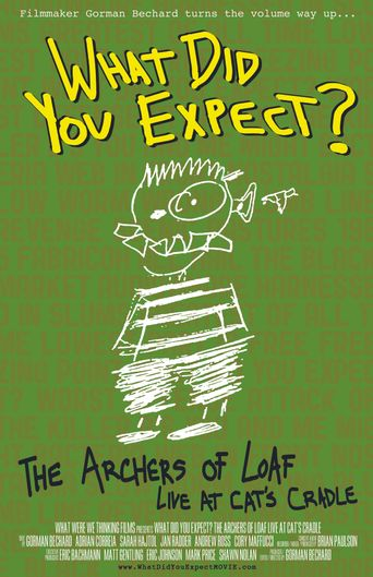 What Did You Expect: The Archers of Loaf Live at Cat's Cradle Poster