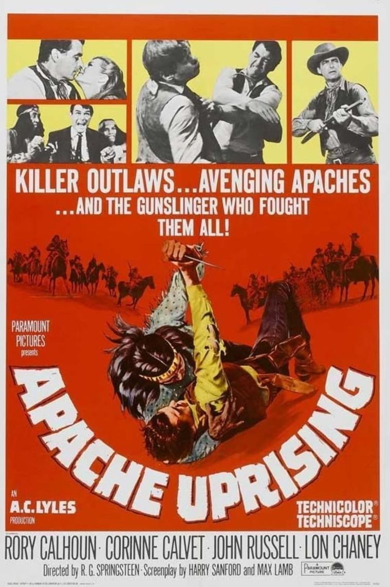 Apache Uprising Poster