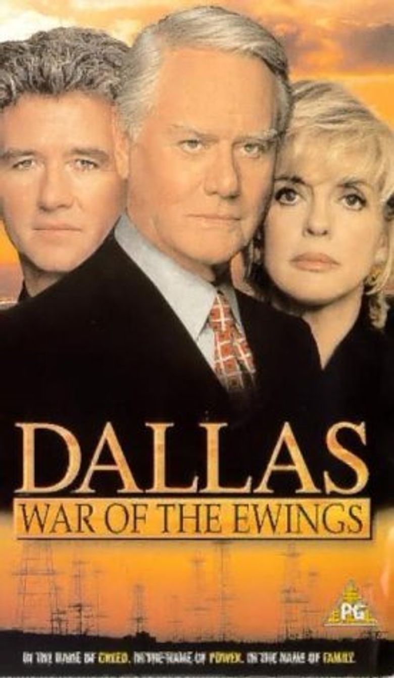 Dallas - War of The Ewings Poster