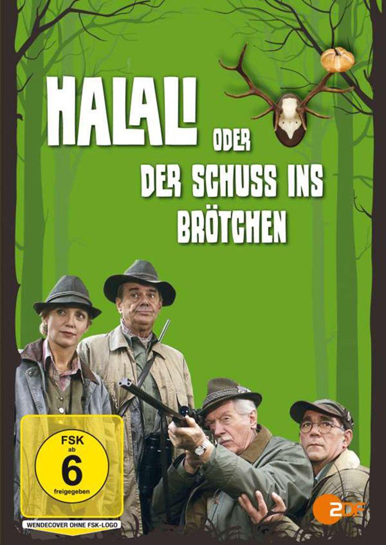 Halali oder Der Schuß ins Brötchen Poster
