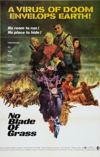 No Blade of Grass Poster