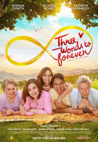 Three Words to Forever Poster
