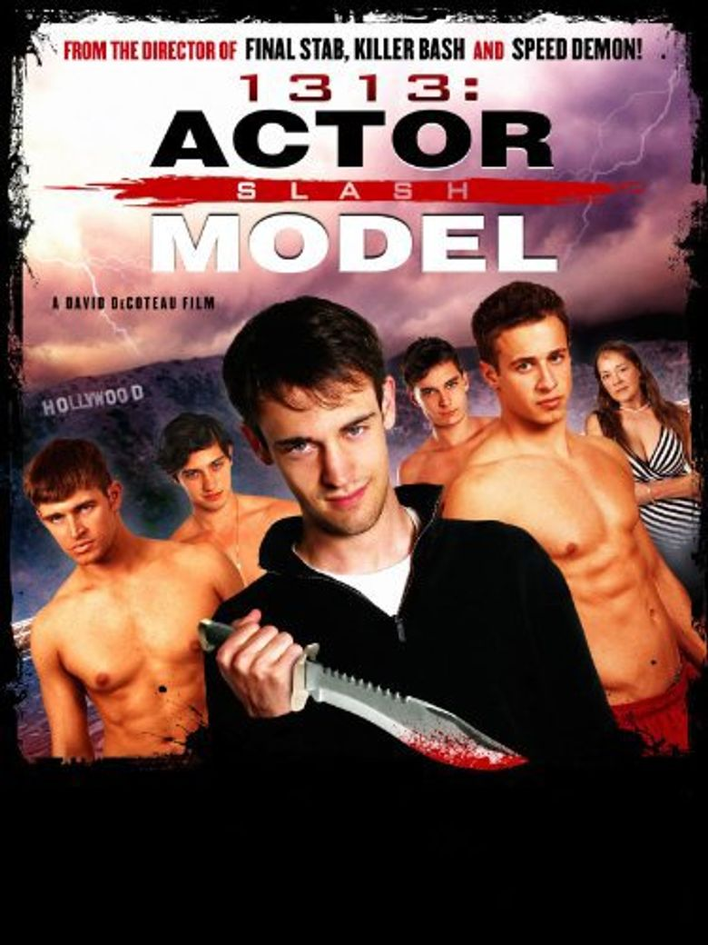 1313: Actor Slash Model Poster