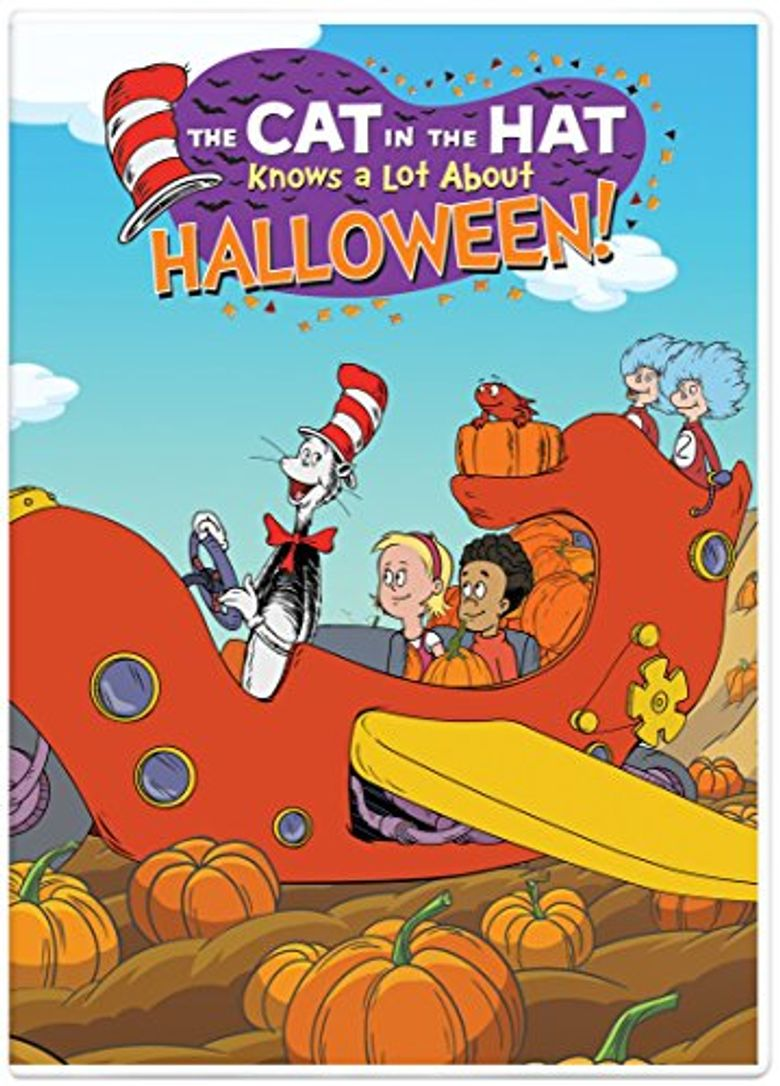 The Cat In The Hat Knows A Lot About Halloween! Poster