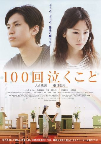Crying 100 Times - Every Raindrop Falls Poster