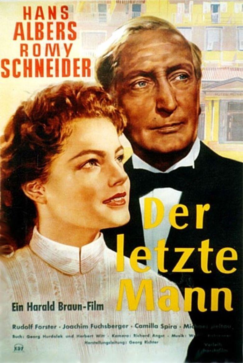 Der letzte Mann Poster