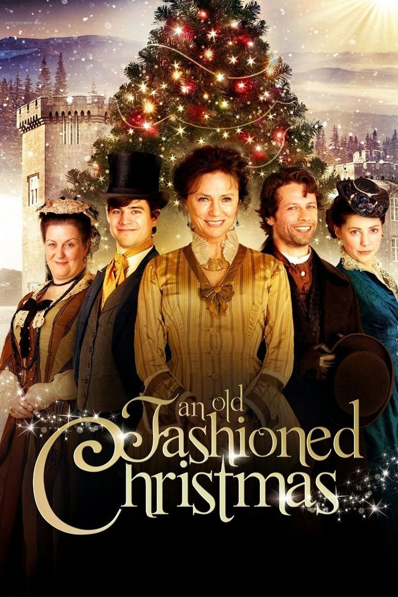 An Old Fashioned Christmas Poster