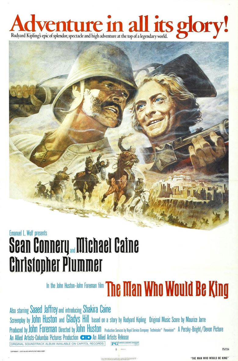 The Man Who Would Be King Poster