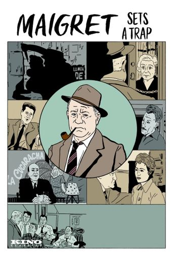 Maigret Lays a Trap Poster