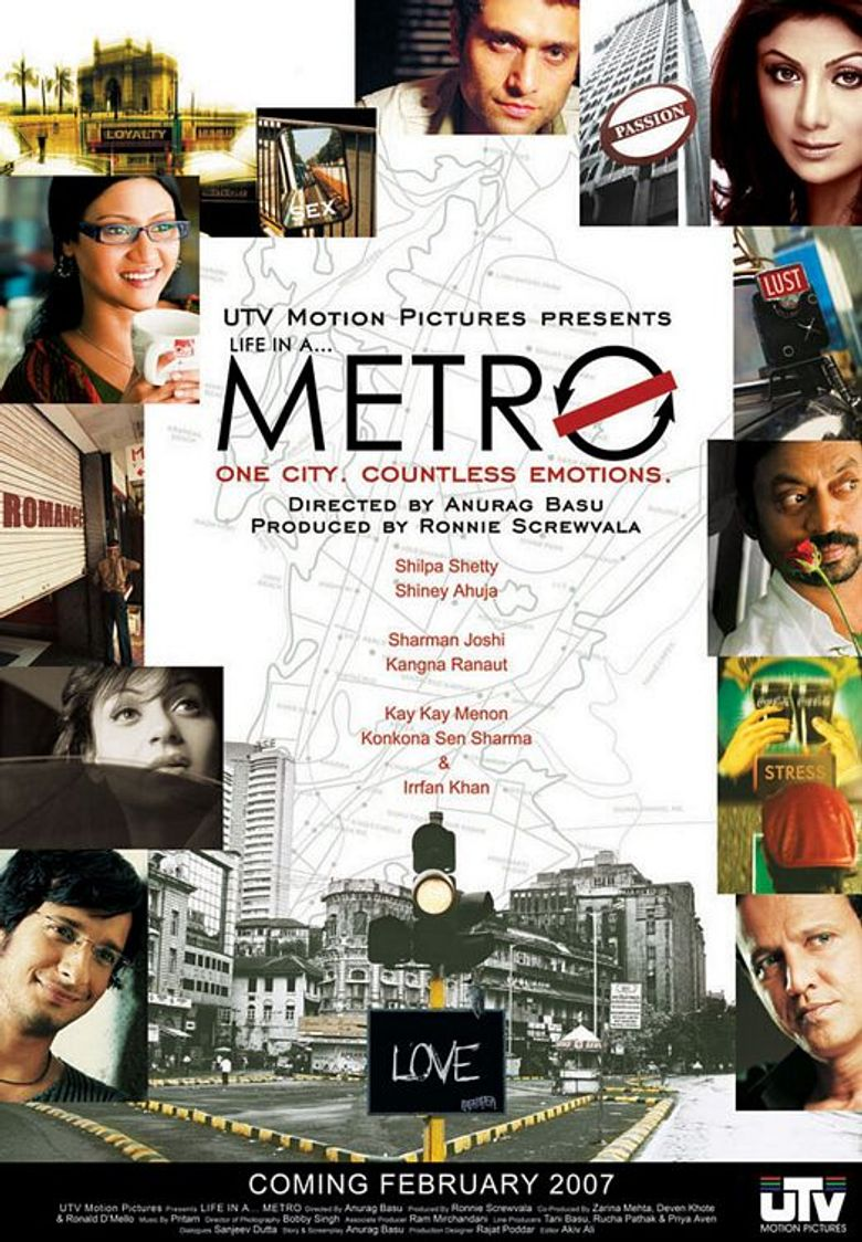 Life in a Metro Poster