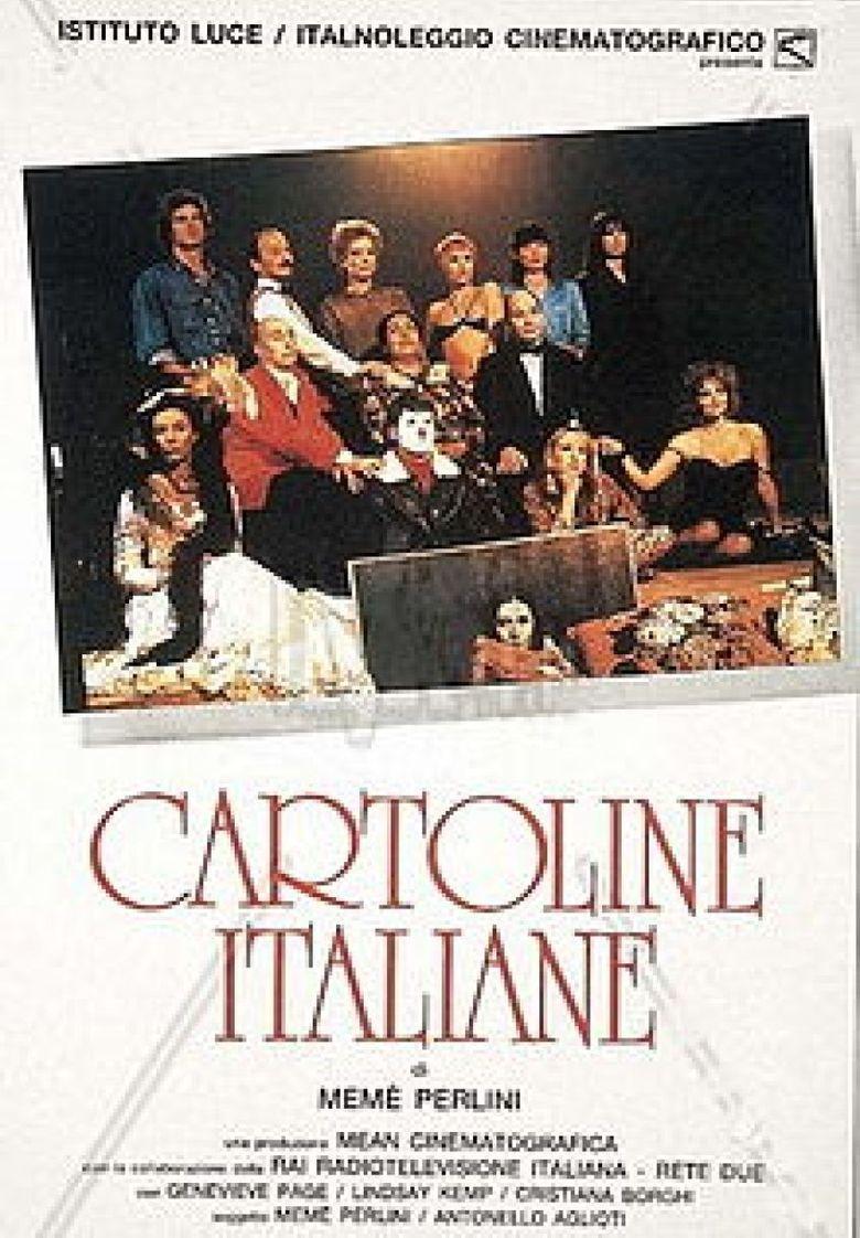 Italian Postcards Poster