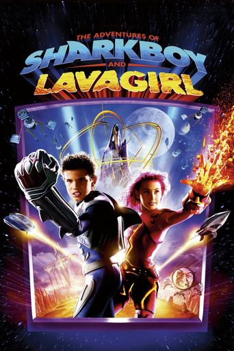 The Adventures of Sharkboy and Lavagirl Poster