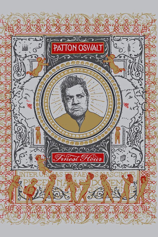 Patton Oswalt: Finest Hour Poster