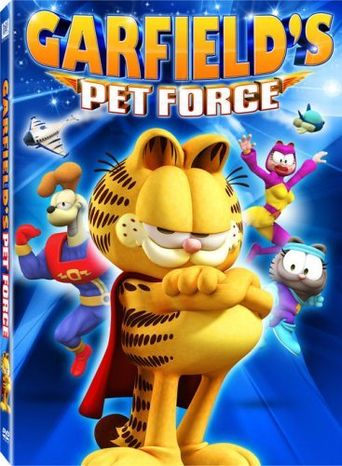 Garfield's Pet Force Poster