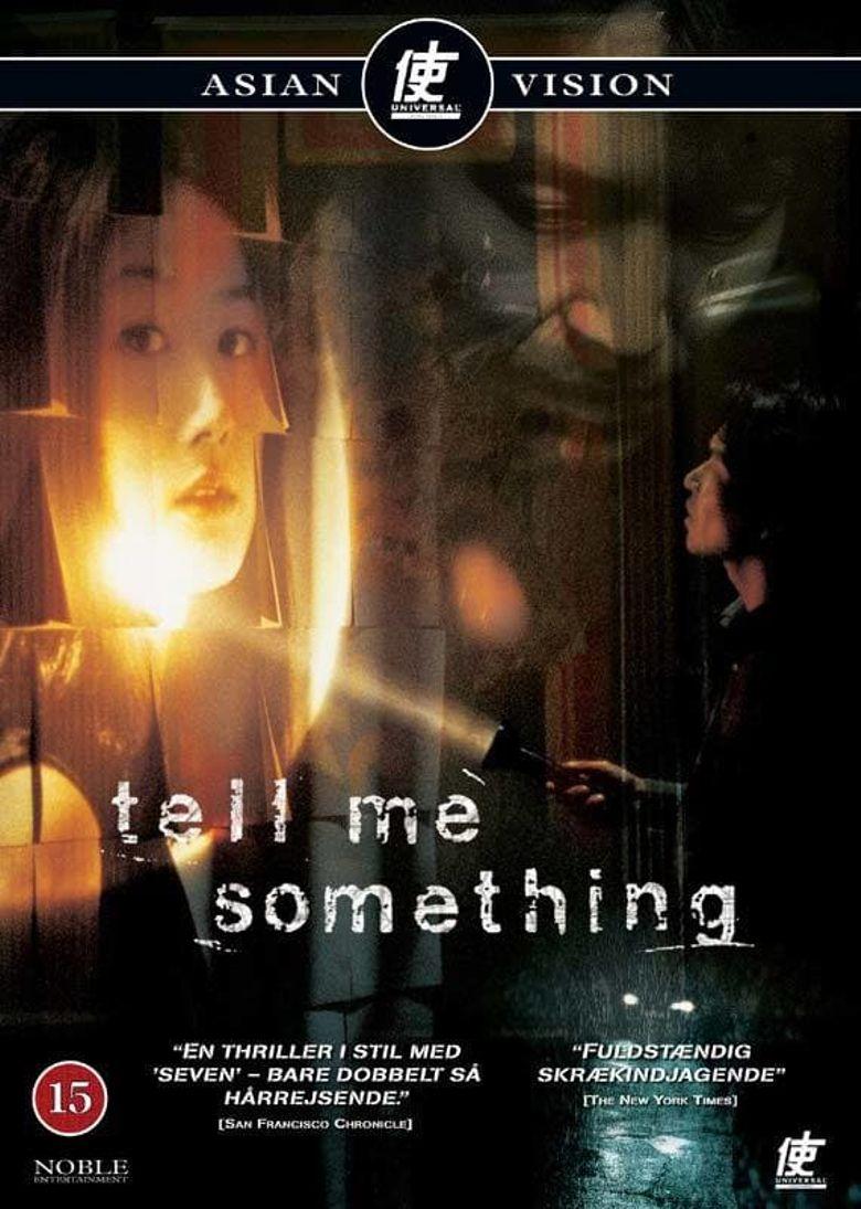 Tell Me Something Poster