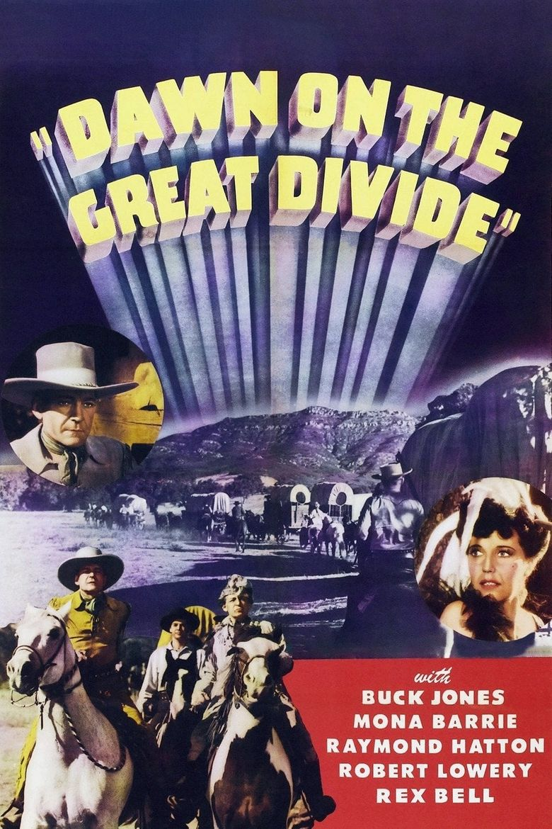 Dawn on the Great Divide Poster