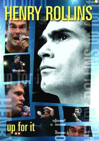 Henry Rollins: Up for It Poster