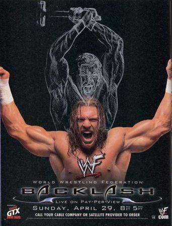 WWE Backlash 2001 Poster