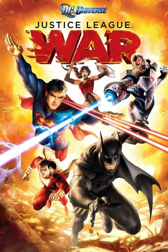 Justice League: War Poster