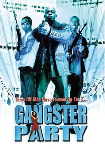 Gangster Party Poster