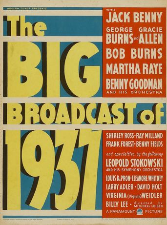 The Big Broadcast of 1937 Poster