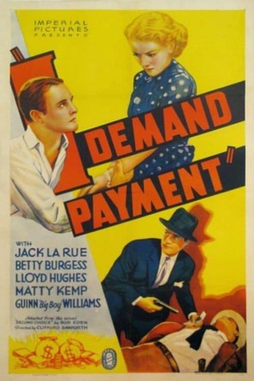 I Demand Payment Poster