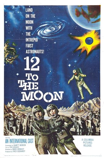 12 to the Moon Poster
