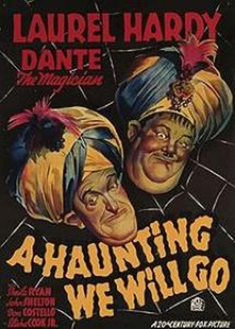 A-Haunting We Will Go Poster