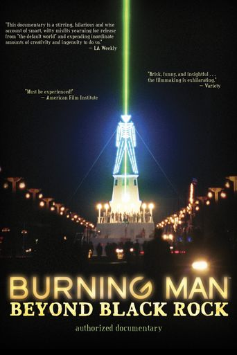 Burning Man: Beyond Black Rock Poster