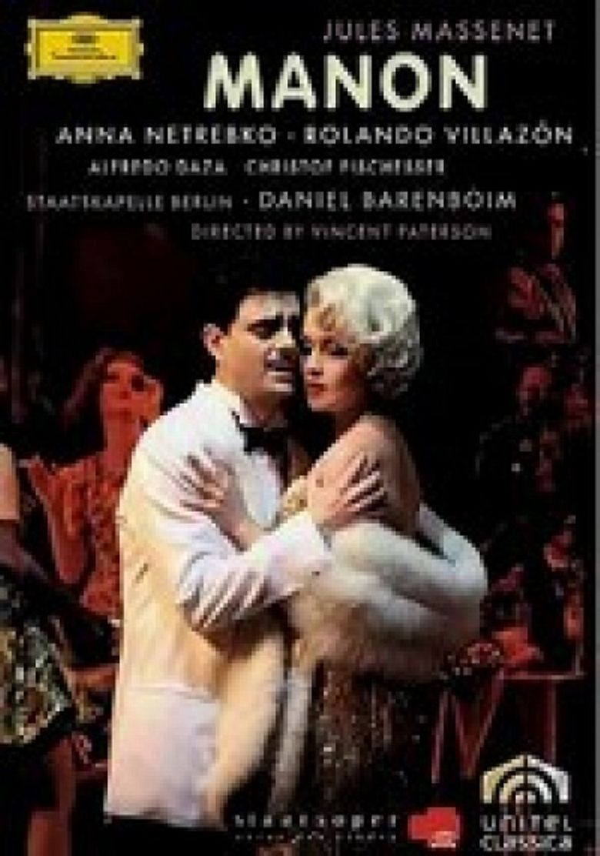 Jules Massenet: Manon Poster